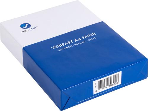 Veripart A4 Paper 80g/m2 500 Sheets Main Image