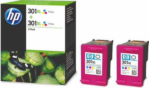 HP 301XL Cartridges Color Duo Pack Main Image