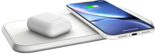 ZENS Dual Wireless Charger 10W White Main Image