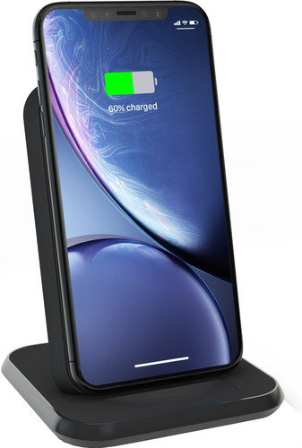 Zens Wireless Charger 10W with Stand Black Main Image