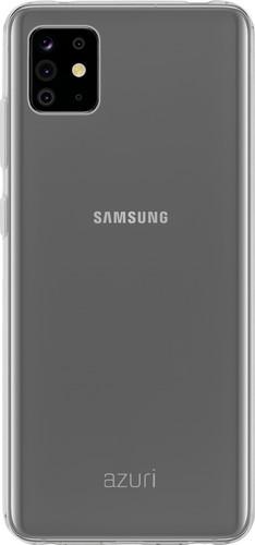 Azuri TPU Samsung Galaxy Note 10 Lite Back Cover Transparant Main Image
