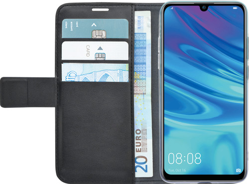 Azuri Wallet Huawei P Smart Plus (2019) Book Case Zwart Main Image