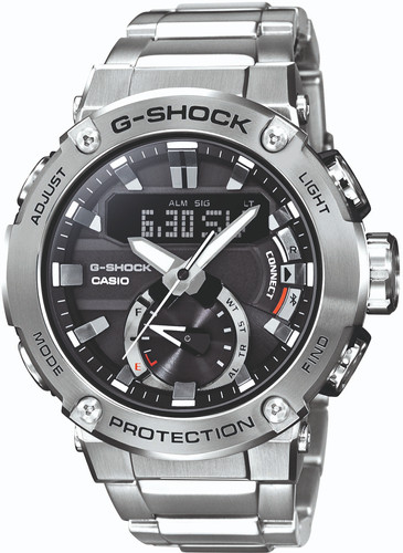 Casio G-Shock G-Steel GST-B200D-1AER Silver Main Image