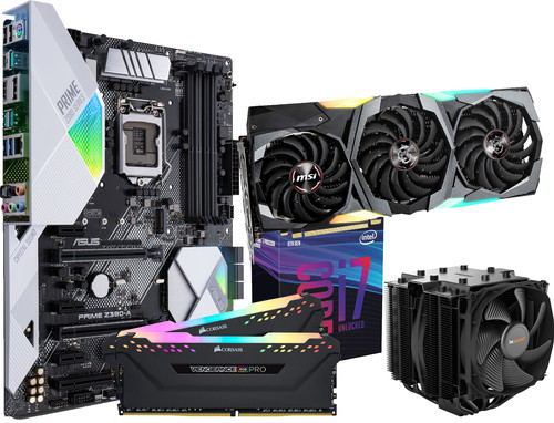 Intel Advanced Upgrade Kit + MSI GeForce RTX 2080 Super Gaming X Trio Main Image