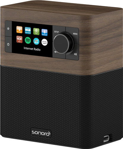 Sonoro Stream SO-410 V2 Walnut/Black Main Image