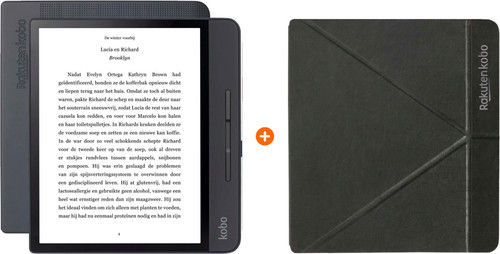 Kobo Forma + Sleep Cover Zwart Main Image