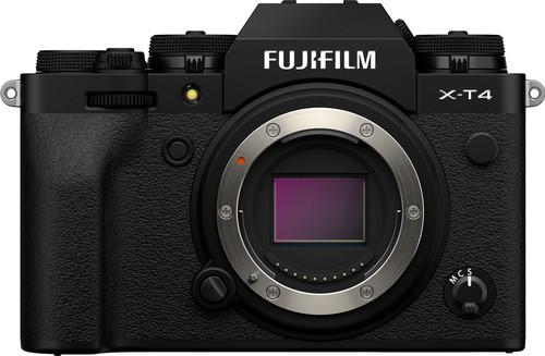 Fujifilm X-T4 Body Zwart Main Image