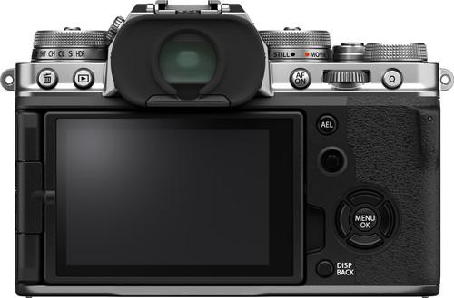 Fujifilm X-T4 Silver + XF 18-55mm f/2.8-4.0 R LM OIS back