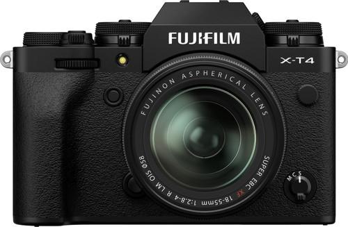 Fujifilm X-T4 Black + XF 18-55mm f/2.8-4.0 R LM OIS Main Image