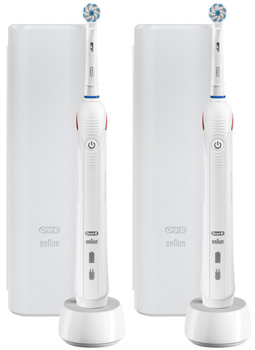Oral-B PRO 2 2500 Duo Pack Wit Main Image