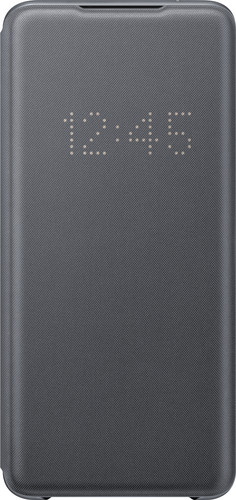 Samsung Galaxy S20 Ultra Led View Book Case Grijs Main Image
