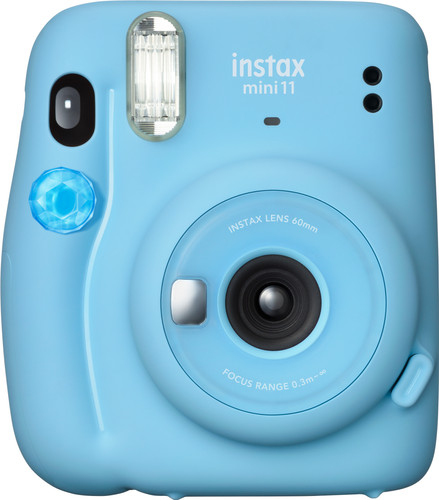 Fujifilm Instax Mini 11 Sky Blue Main Image