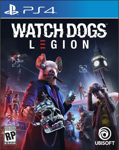 Watch Dogs Legion PS4 Main Image
