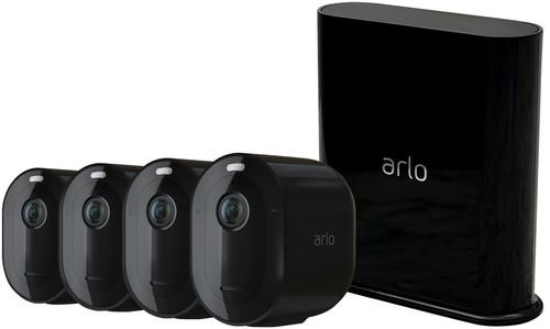 Arlo PRO 3 Zwart 4-Pack Main Image
