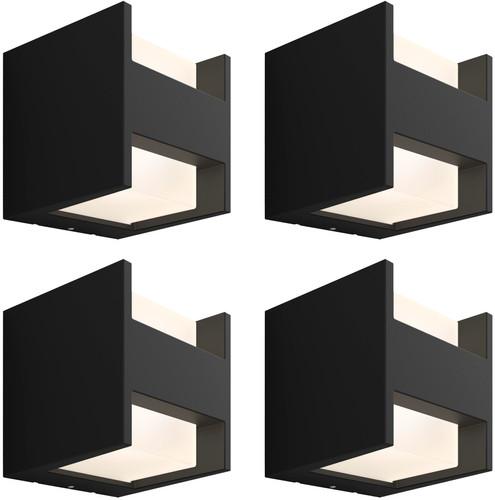 Philips Hue Fuzo Wandlamp Up/Down Buiten 4-Pack Main Image