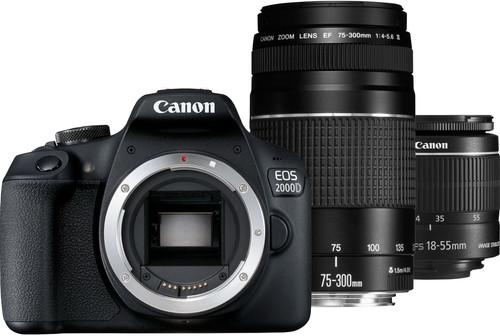 Canon EOS 2000D 18-55 DC + 75-300 DC Main Image