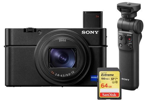 Sony CyberShot DSC-RX100 VII - Vlog Kit Main Image