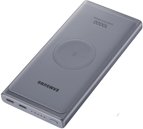 Samsung Wireless Power Bank Power Delivery 10,000mAh Gray Main Image