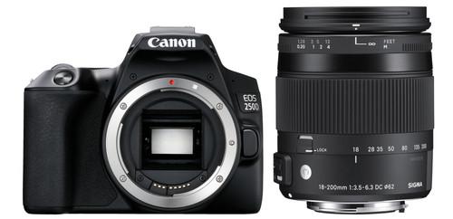 Canon EOS 250D + Sigma 18-200mm f/3.5-6.3 DC Macro OS HSM Main Image