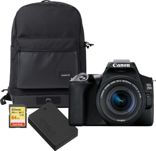 Canon EOS 250D Zwart - Travelkit Main Image