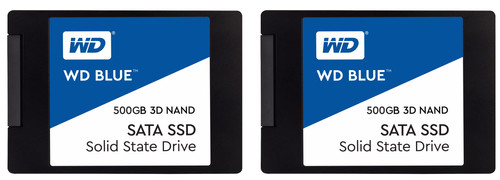 WD Blue 3D NAND 2,5 inch Duo Pack 500GB Main Image