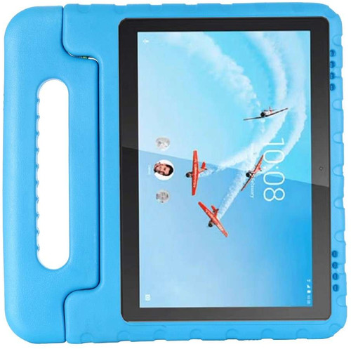 Just in Case Kids Case Classic Lenovo Tab E10 Back Cover Blauw Main Image