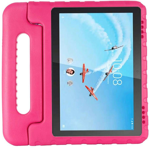 Just in Case Lenovo Tab E10 Kids Cover Classic Roze Main Image