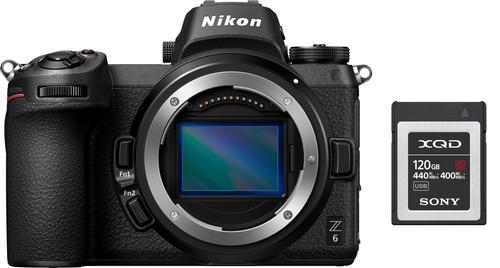 Nikon Z6 + FTZ Adapter + 120GB XQD Memory Card Main Image
