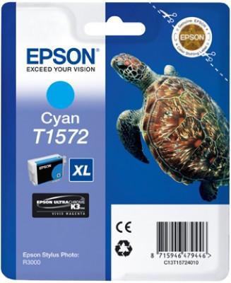Epson T1572 Cartridge Cyan (C13T15724010) Main Image