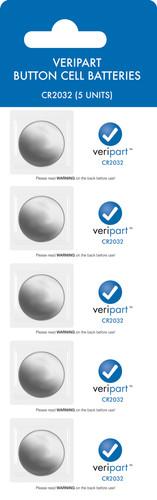 Veripart Lithium knoopcelbatterijen 5 stuks Main Image