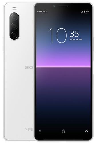 Sony Xperia 10 II 128GB White Main Image