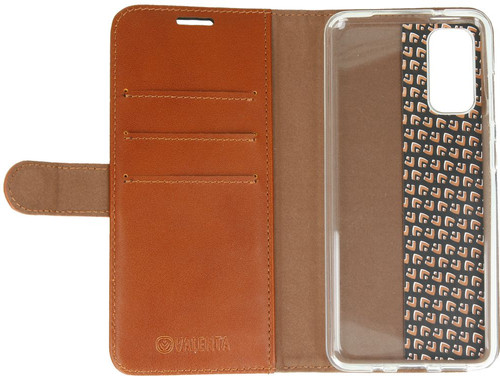 Valenta Classic Luxe Samsung Galaxy S20 Book Case Leer Bruin Main Image