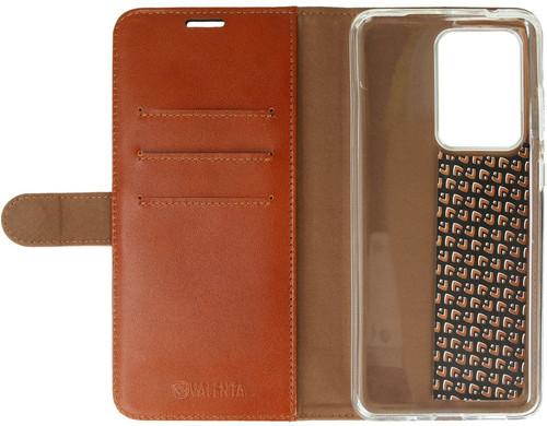 Valenta Classic Luxe Samsung Galaxy S20 Ultra Book Case Leer Bruin Main Image