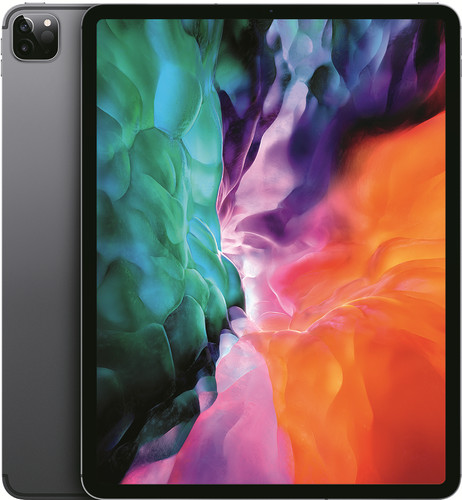 Apple iPad Pro (2020) 12.9 inch 256 GB Wifi + 4G Space Gray Main Image