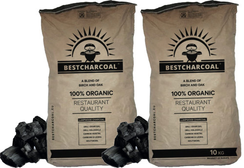Best Charcoal Birch/Oak 10 kg Duo Pack Main Image