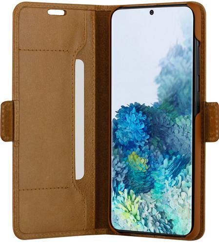 DBramante1928 Copenhagen Slim Samsung Galaxy S20 Plus Book Case Leer Bruin Main Image