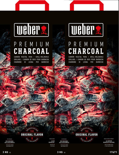 Weber Houtskool 10 kg Duo Pack Main Image