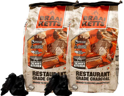 Braai Ketts Acacia 4 kg Duo Pack Main Image