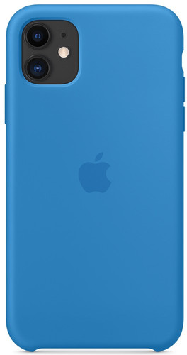 Apple iPhone 11 Silicone Back Cover Pacific Main Image