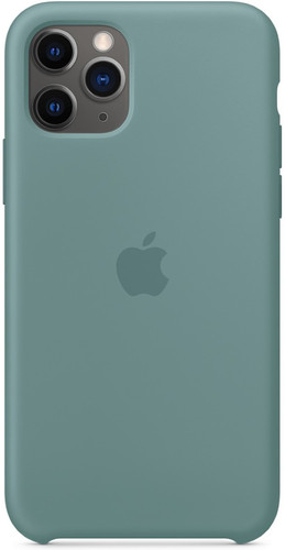 Apple iPhone 11 Pro Silicone Back Cover Cactus Main Image