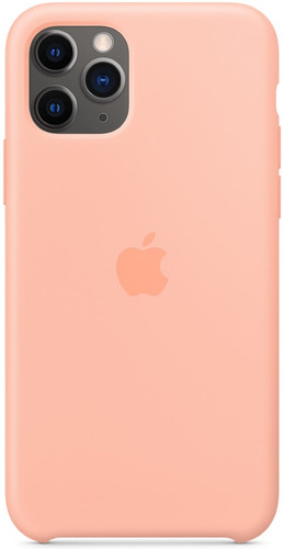 Apple iPhone 11 Pro Silicone Back Cover Grapefruit Main Image