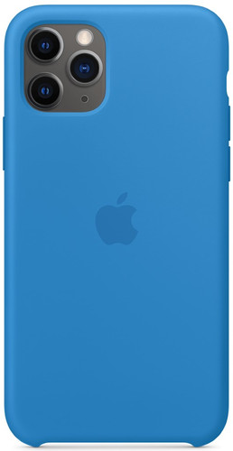 Apple iPhone 11 Pro Silicone Back Cover Pacific Main Image