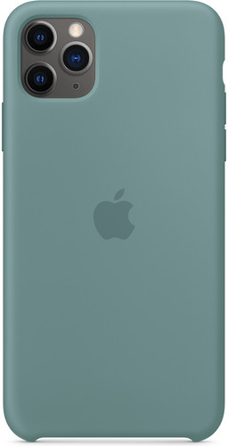 Apple iPhone 11 Pro Max Silicone Back Cover Cactus Main Image