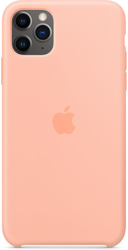 Apple iPhone 11 Pro Max Silicone Back Cover Grapefruit Main Image