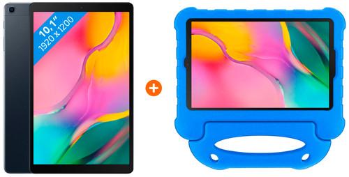 Samsung Galaxy Tab A 10.1 (2019) 32GB Wifi + Kinderhoes Blauw Main Image