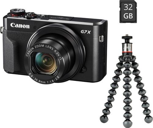 Canon Powershot G7X Mark II Black - Vlog Kit Main Image