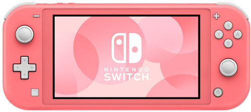 Nintendo Switch Lite Coral Main Image