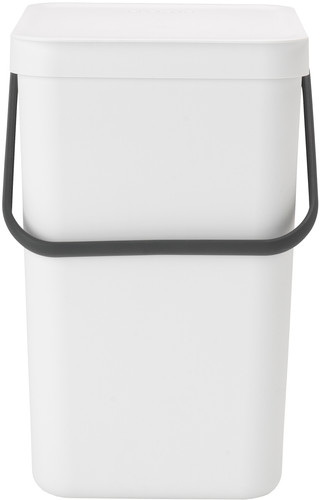 Brabantia Sort & Go Trash Can 25L - White Main Image