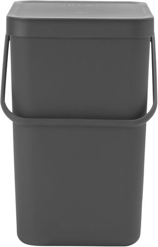 Brabantia Sort & Go waste bin 25L - Gray Main Image