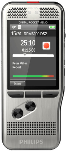 Philips PocketMemo Dicteerapparaat DPM6000 Main Image